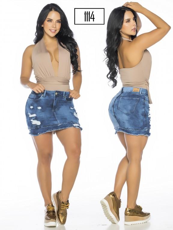 Colombian Butt Lifting Skirt - Ref. 119 -1114A