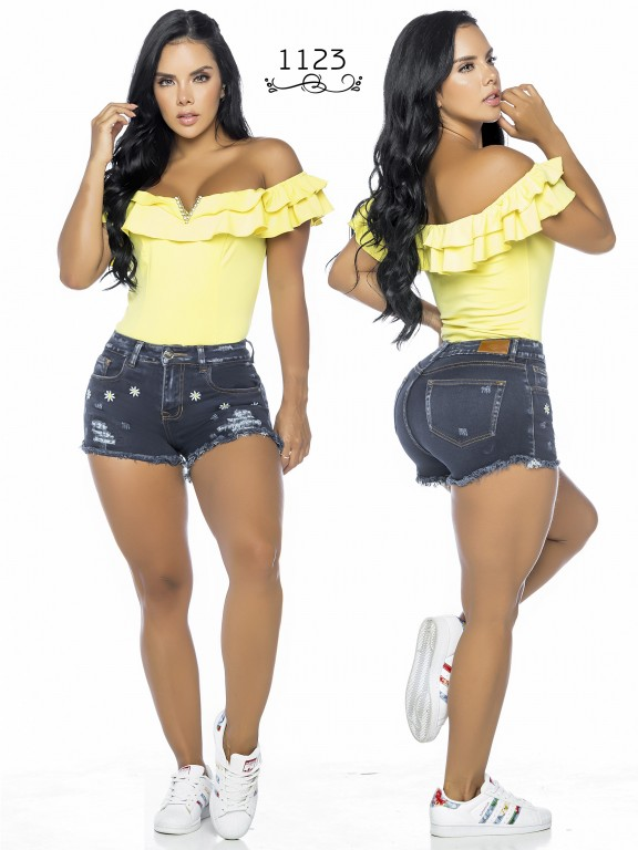 Colombian Butt Lifting Shorts - Ref. 119 -1123A