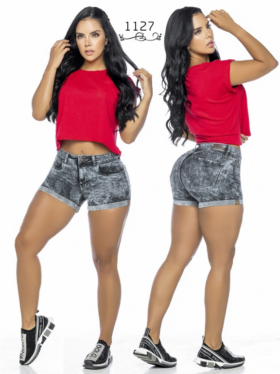 Colombian Butt Lifting Shorts - Ref. 119 -1127A