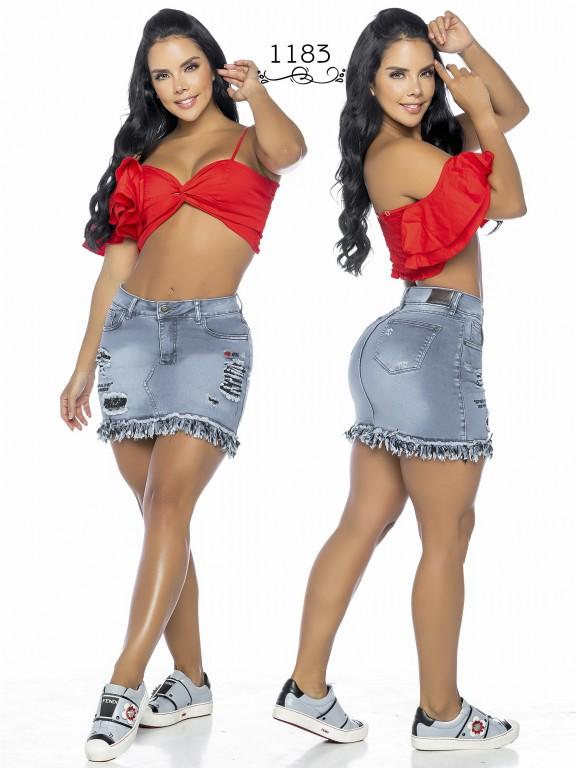 Colombian Butt Lifting skirt - Ref. 119 -1183A