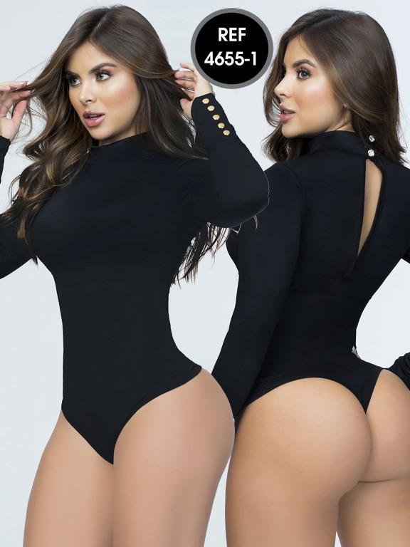 Colombian Bodysuit Shaper - Ref. 114 -4655-1 Negro