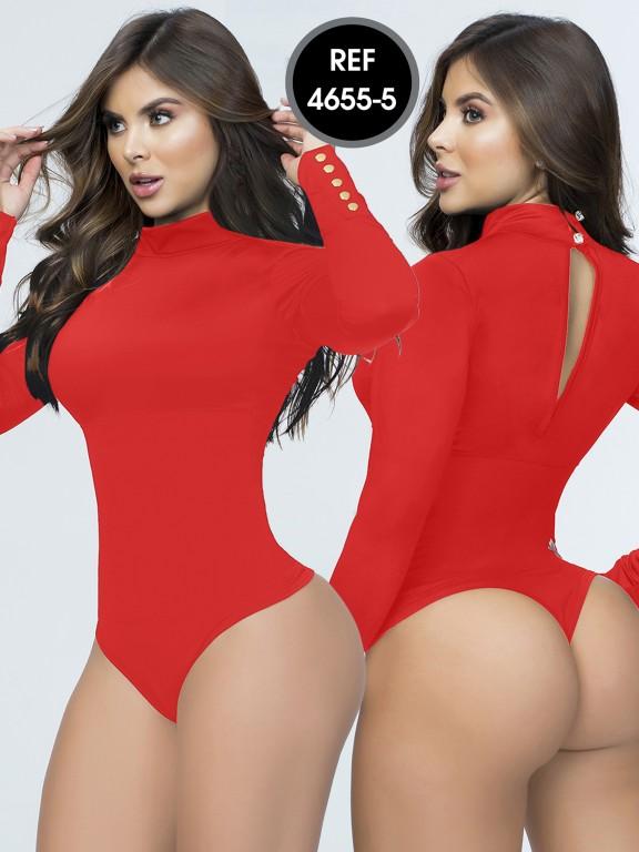 Colombian Bodysuit Shaper - Ref. 114 -4655-5 Rojo