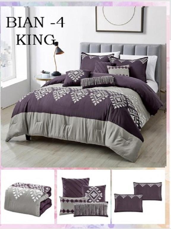 Comforter - Ref. 272 -BIAN K Morado