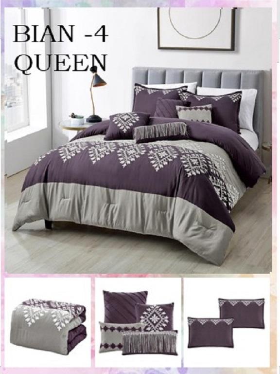 Comforter - Ref. 272 -BIAN Q Morado