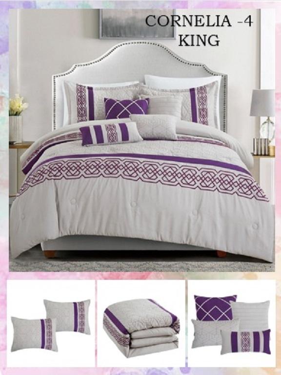 Comforter - Ref. 272 -CORNELIA K Morado