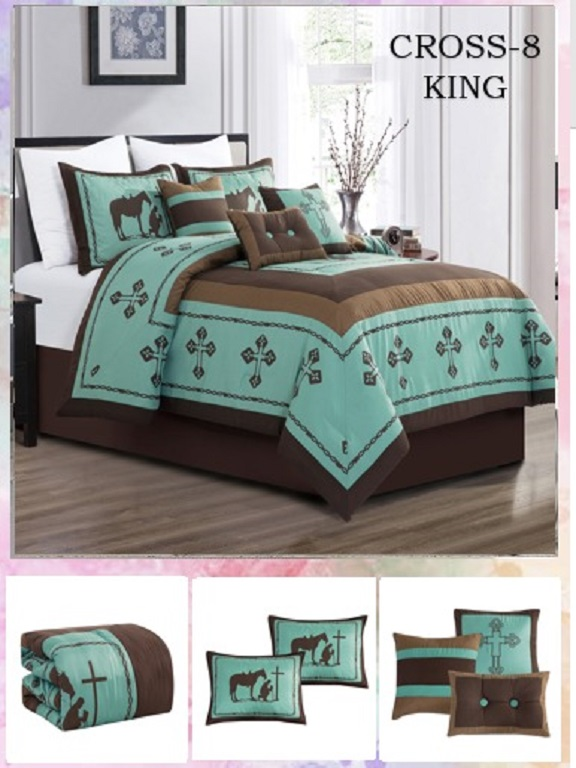 Comforter - Ref. 272 -CROSS K Verde