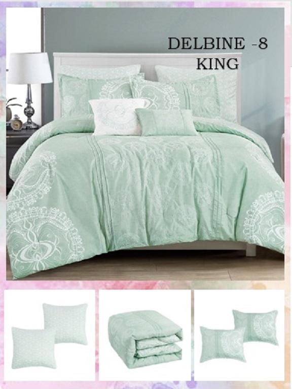 Comforter - Ref. 272 -DELBINE K Verde