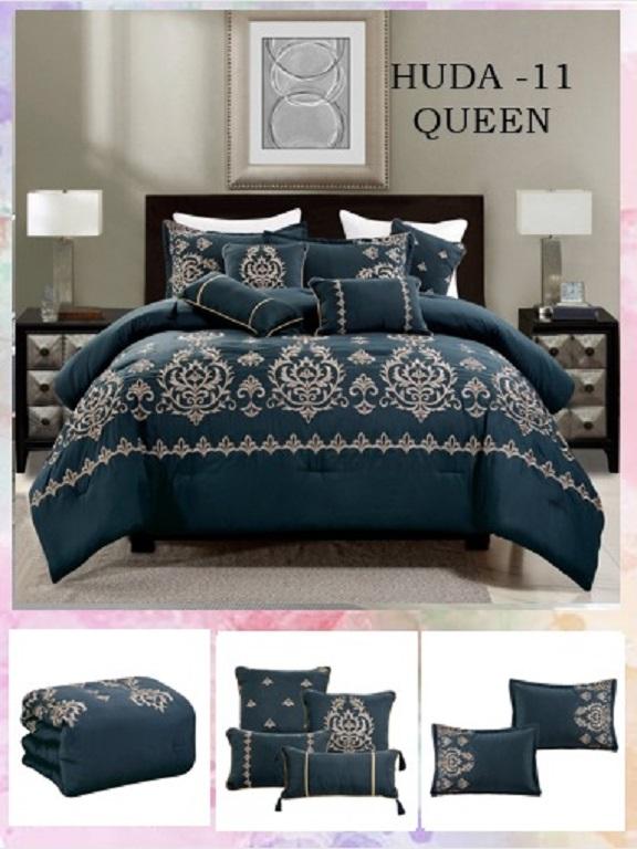 Comforter - Ref. 272 -HUDA Q Azul O