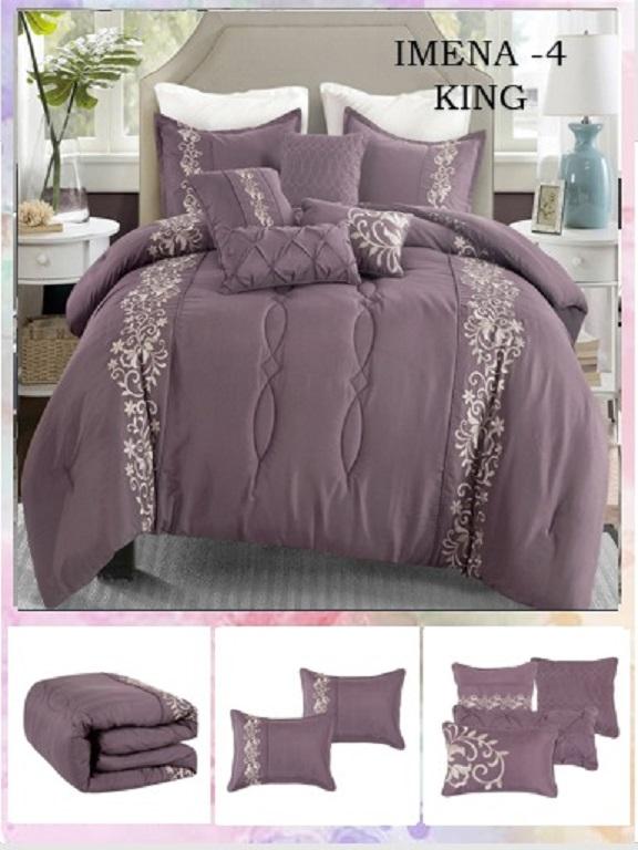 Comforter - Ref. 272 -IMENA K Morado