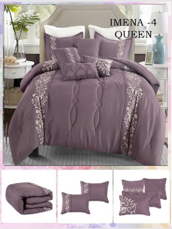 Comforter - Ref. 272 -IMENA Q Morado
