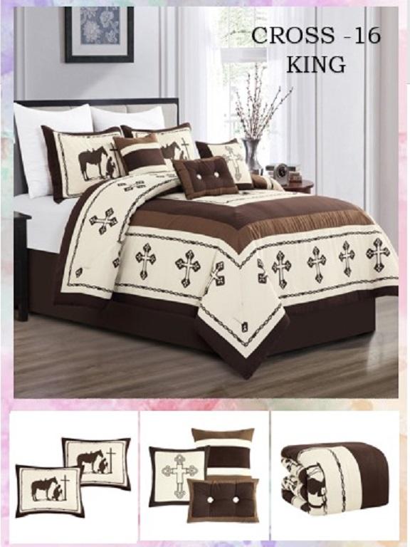 Comforter - Ref. 272 -CROSS K Beige