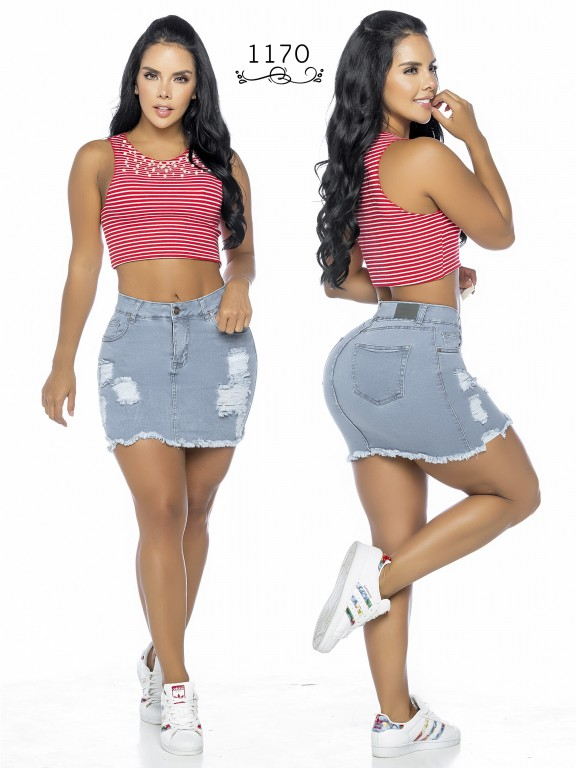 Colombian Butt Lifting Skirt - Ref. 119 -1170A
