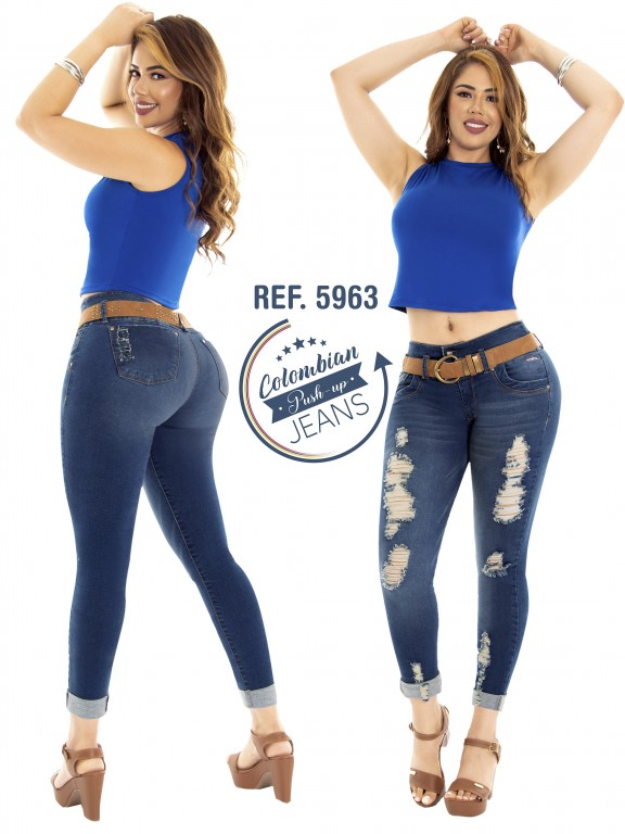 Colombian Butt lifting Jean - Ref. 283 -5963