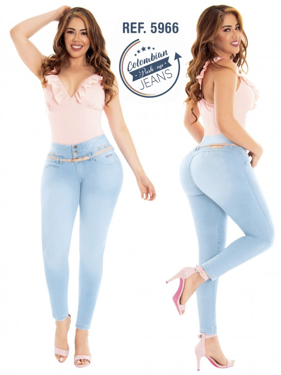Colombian Butt lifting Jean - Ref. 283 -5966