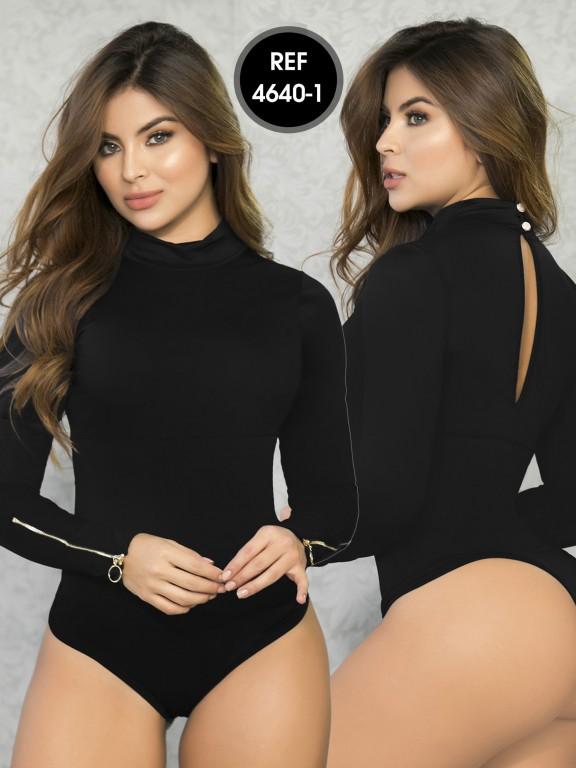 Colombian Bodysuit Shaper - Ref. 114 -4640-1 Negro