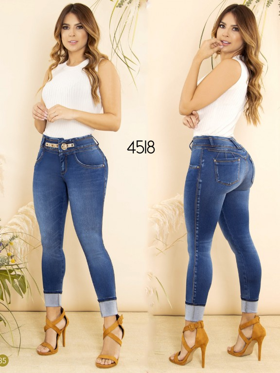 Colombian Butt lifting Jean - Ref. 270 -4518
