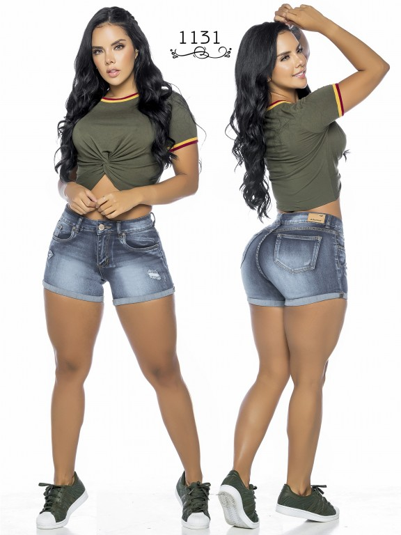 Colombian Butt Lifting Shorts - Ref. 119 -1131A