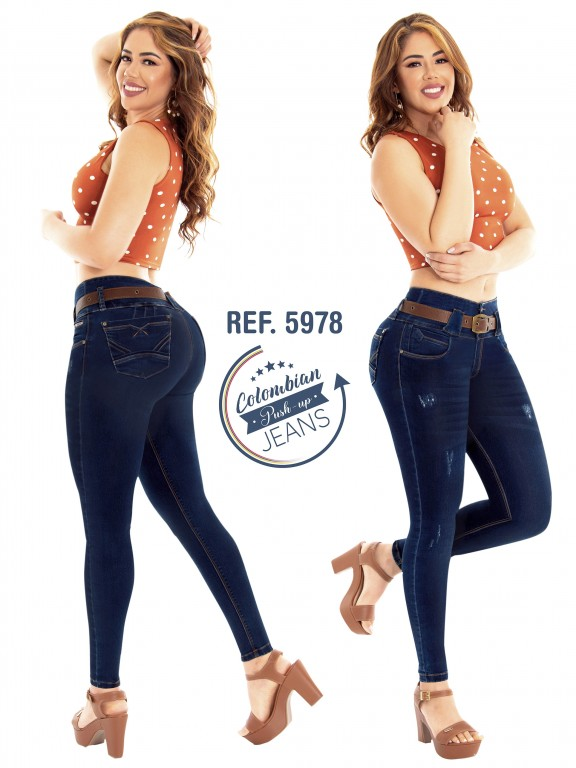 Colombian Butt lifting Jean - Ref. 283 -5978