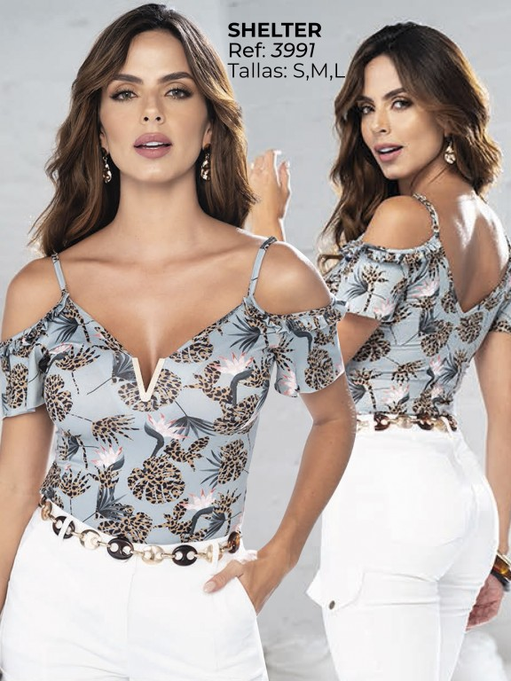 Colombian Fashion Blouse - Ref. 252 -3991