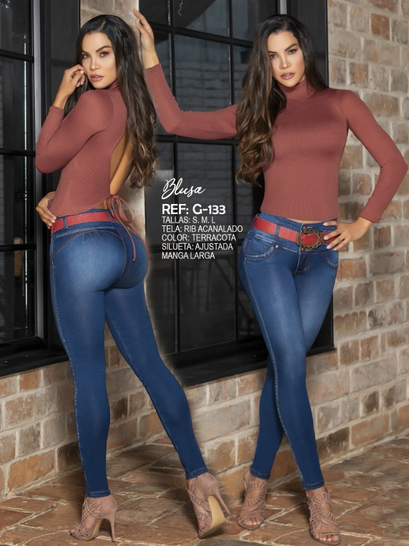Colombian Fashion Blouse - Ref. 287 -G133