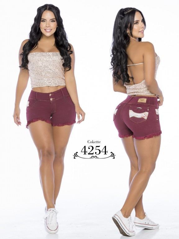 Colombian Butt Lifting Shorts - Ref. 119 -4254-CK