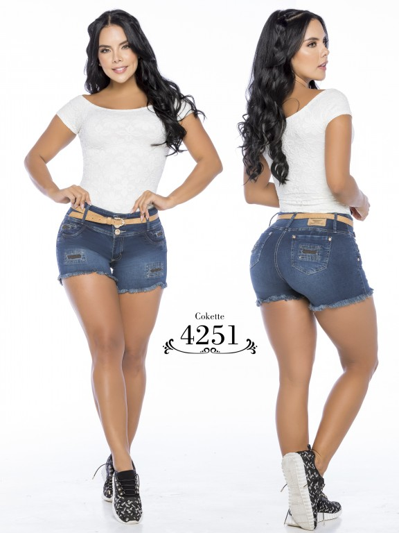 Colombian Butt Lifting Shorts - Ref. 119 -4251-CK