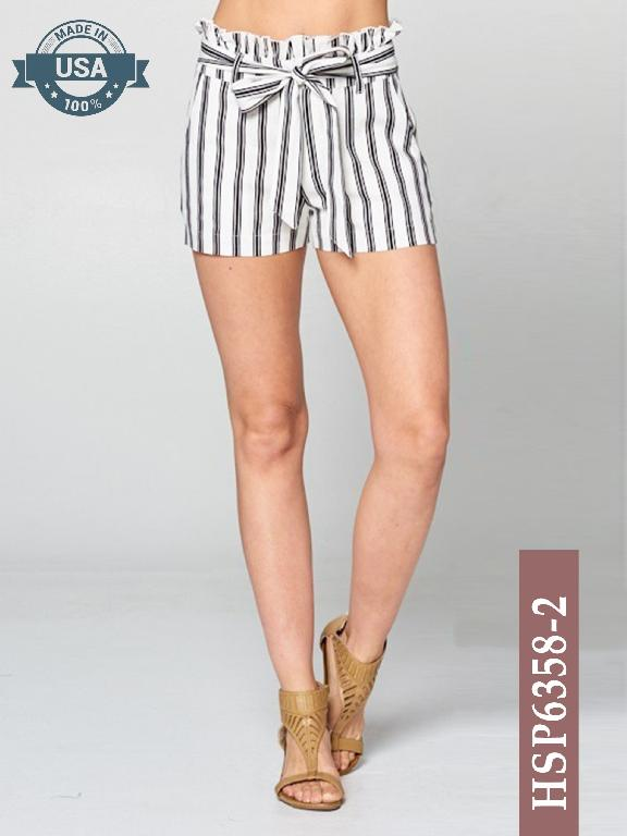 Short Azulle Fashion - Ref. 256 -HSP6358-2 Negro