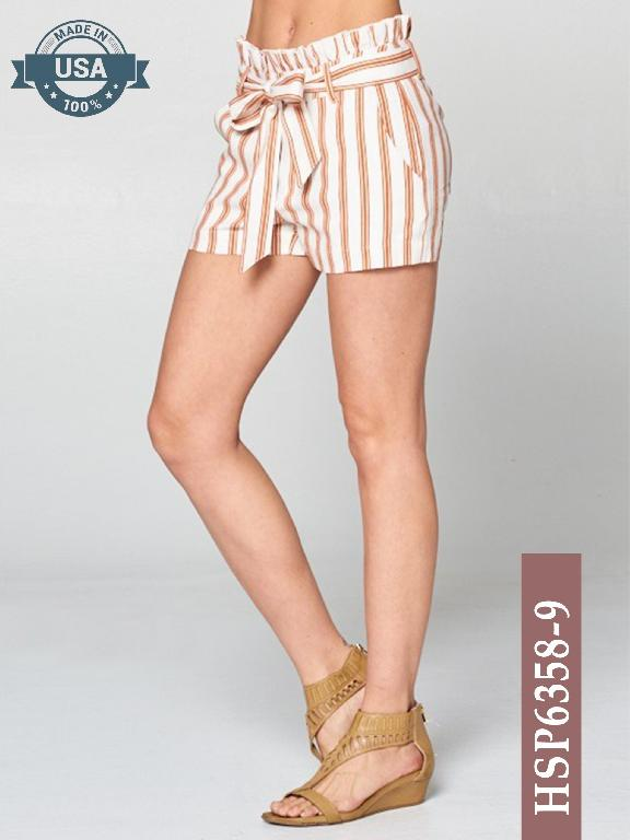 Short Azulle Fashion - Ref. 256 -HSP6358-9 Cafe