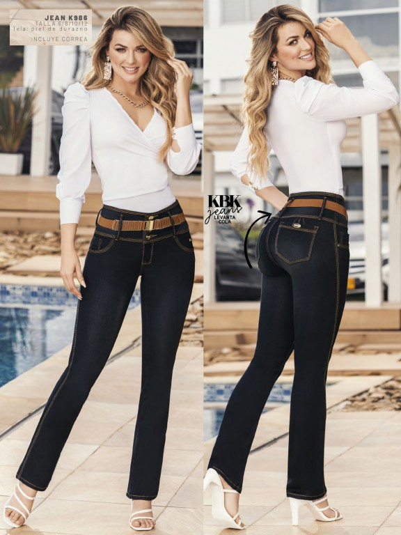 Jeans Levantacola Colombiano - Ref. 119 -986K