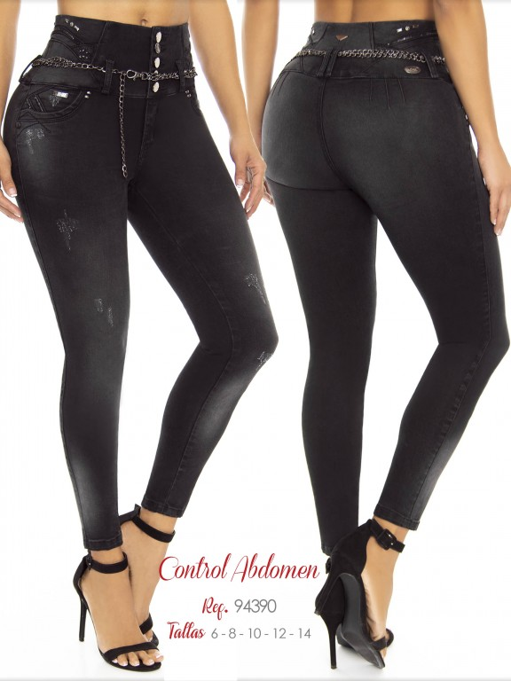 Colombian Butt lifting Jean - Ref. 248 -94390 D