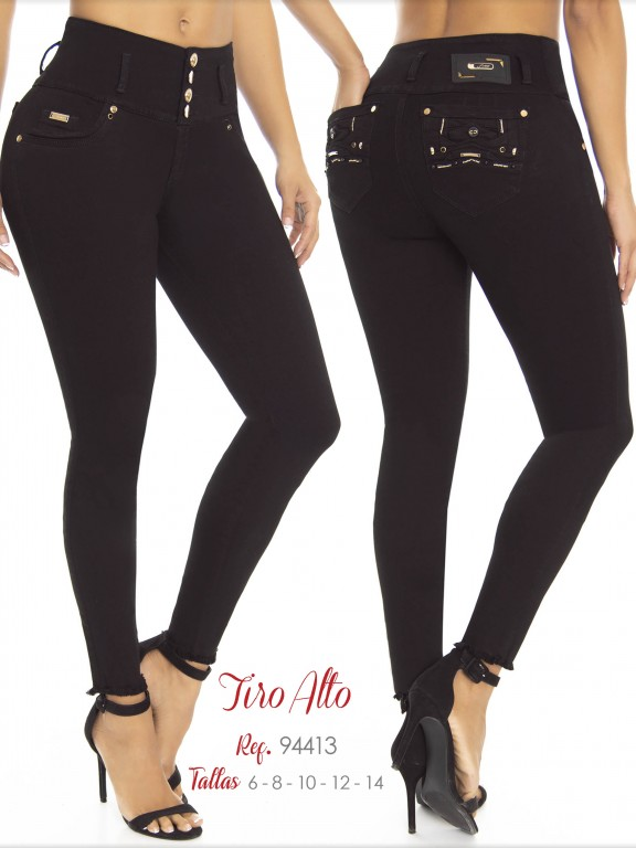 Jeans Dama Colombiano - Ref. 248 -94413 D