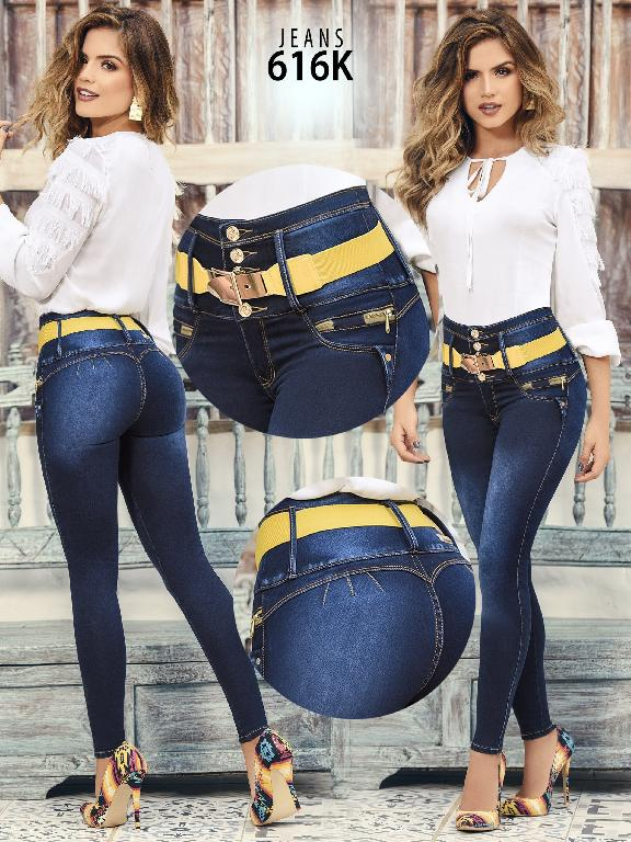Colombian Butt lifting Jean - Ref. 119 -616K