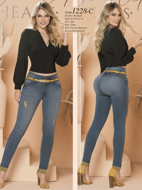 Colombian Butt lifting Jean - Ref. 280 -1228 Claro