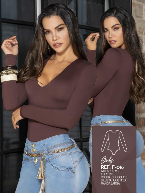 Colombian Fashion Bodysuit  - Ref. 287 -016 Body