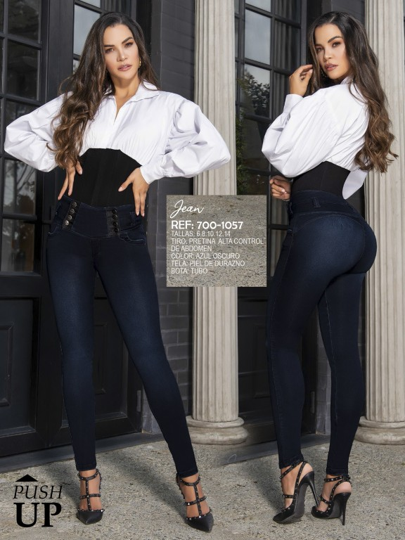 Jeans Levantacola Colombiano - Ref. 287 -1057