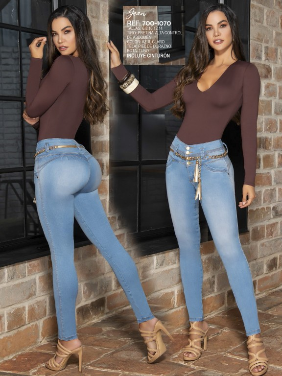 Colombian Butt lifting Jean - Ref. 287 -1070