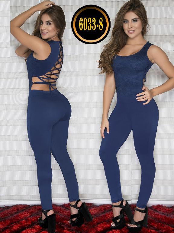 Enterizo Colombiano Moda Thaxx - Ref. 119 -6033-8 Azul