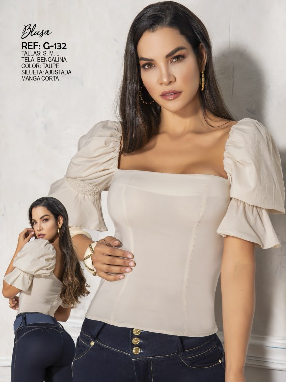 Colombian Fashion Blouse - Ref. 287 -132