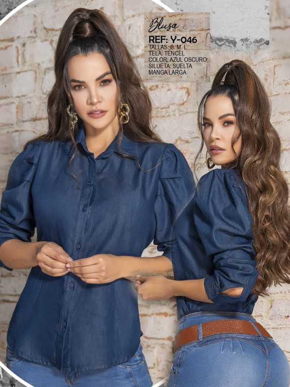 Colombian Fashion Blouse - Ref. 287 -Y046