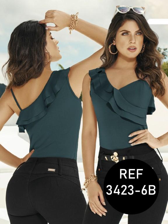 Colombian Fashion Blouse - Ref. 119 -3423-6B