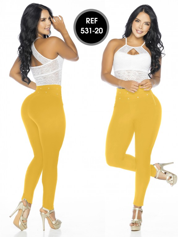 Colombian Leggings Thaxx - Ref. 119 -531-20 Oro