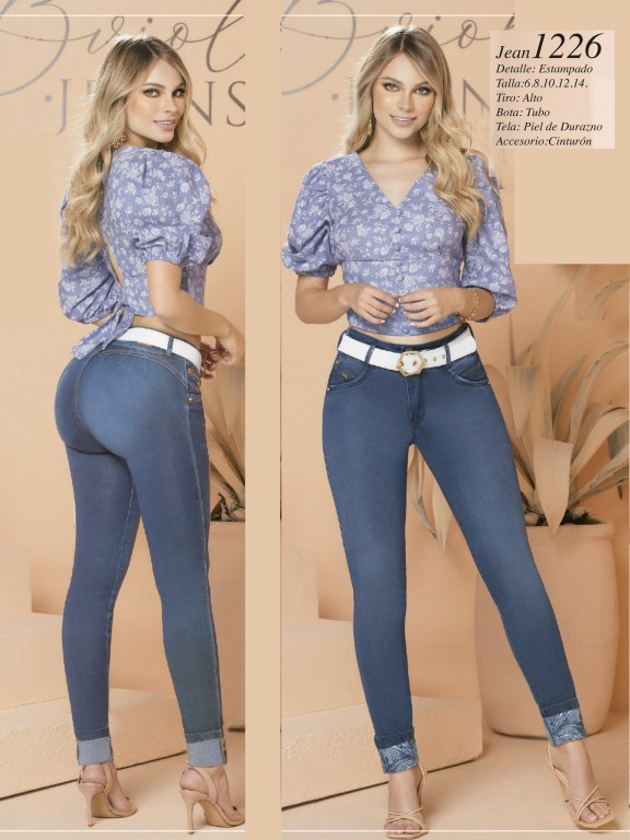Colombian Butt lifting Jean - Ref. 280 -1226 Claro