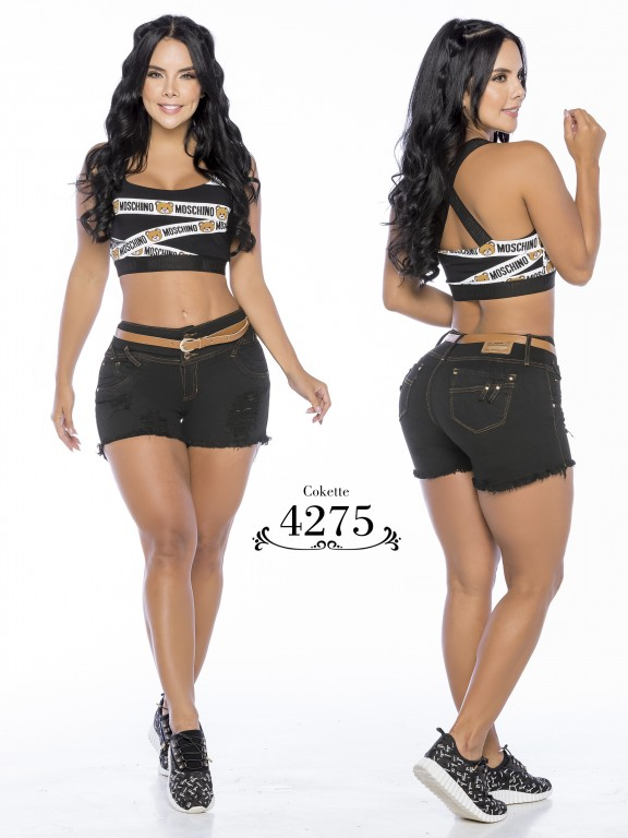 Colombian Butt Lifting Shorts - Ref. 119 -4275-CK