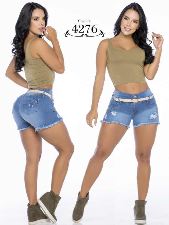 Colombian Butt Lifting Shorts - Ref. 119 -4276-CK