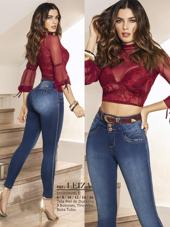 Colombian Butt lifting Jean - Ref. 288 -LEIZA