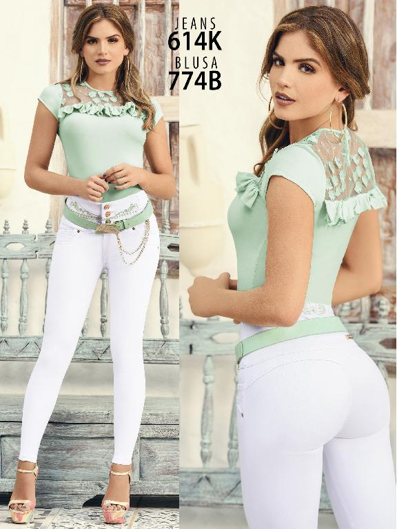 Colombian Butt lifting Jean - Ref. 119 -614k