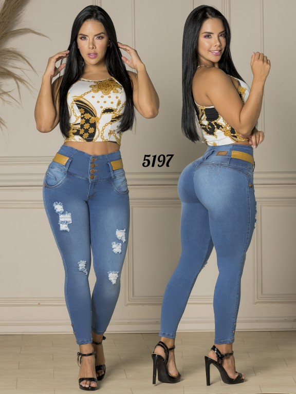 Colombian Butt lifting Jean - Ref. 119 -5197-S