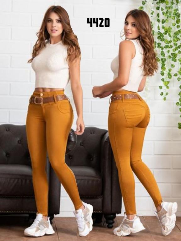 Jeans Levantacola Colombiano Zaika - Ref. 270 -4420