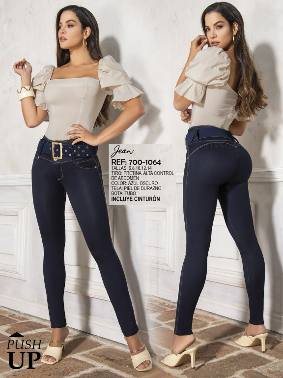 Colombian Butt lifting Jean - Ref. 287 -1064