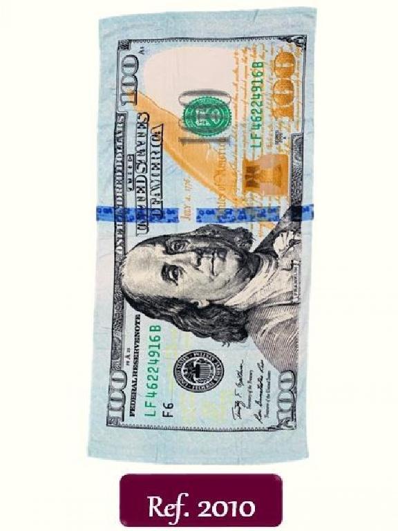 Toalla 2010 Dollar  - Ref. 272 -2010 Dollar